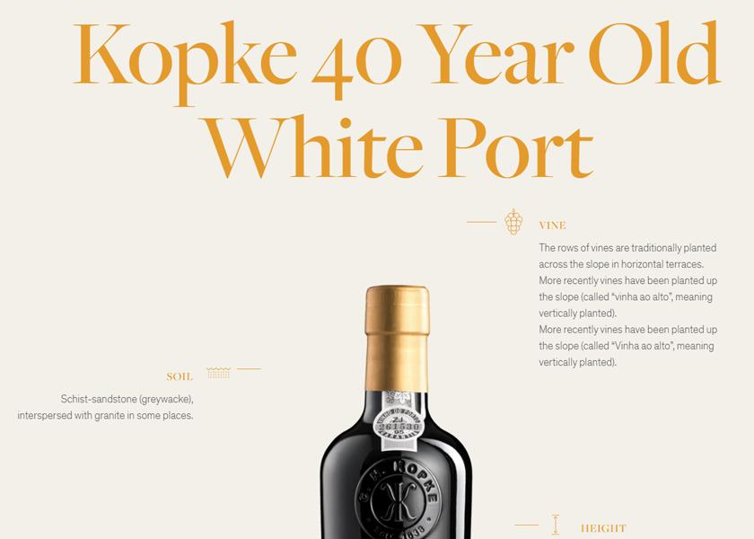 Kopke Web product